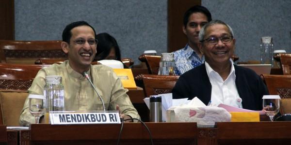 Mendikbud Nadiem Makarim Raker Dengan Komisi X DPR - Telusur